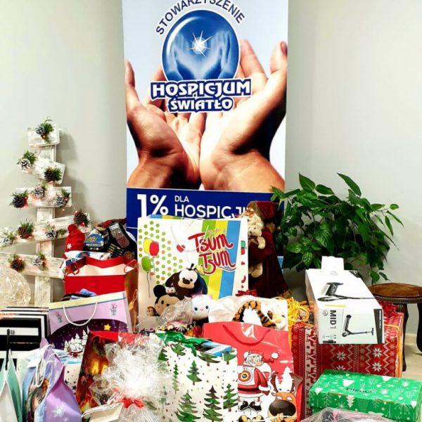 Zakończenie charytatywnej akcji dla Hospicjum ŚWIATŁO