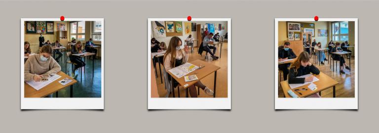 Matura 2021 – język angielski – relacja fotograficzna